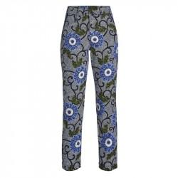 Pantalon Femme Rohnisch 7/8 Kia Blanc/Bleu