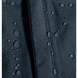 Promo Veste Under Armour Impermeable Noir/Bleu
