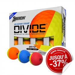 Balles Srixon Q-Star Divide x12
