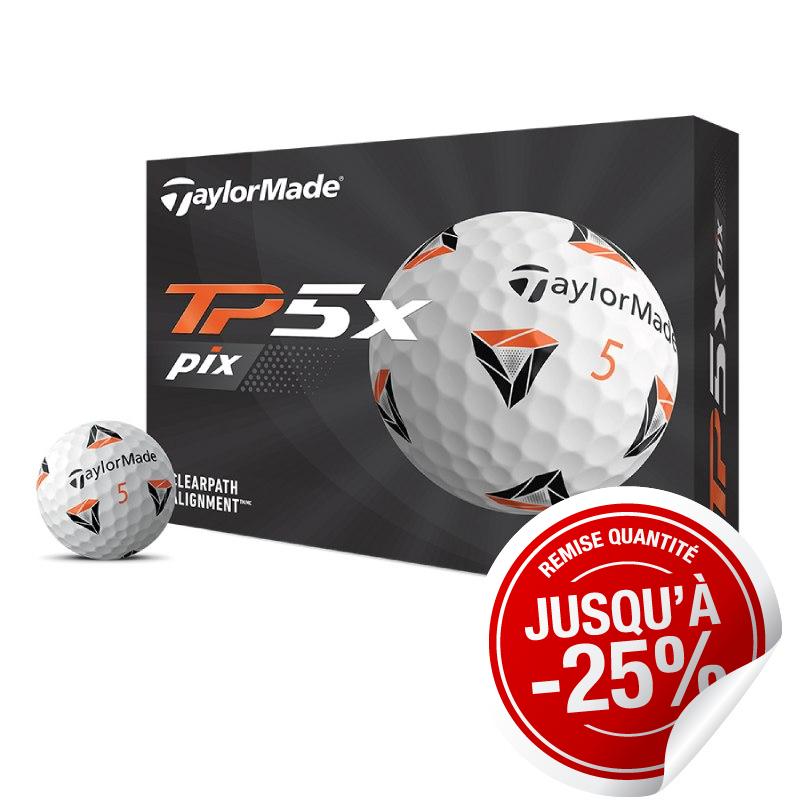 Balles TaylorMade TP5x Pix x12