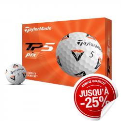 Balles TaylorMade TP5 Pix x12