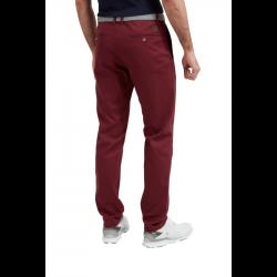 Promo Pantalon Chino Footjoy Tapered Fit Lightweight Bordeaux