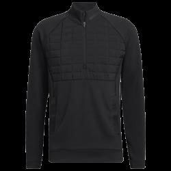 Haut Manches Longues Adidas Quarter-Zip Noir