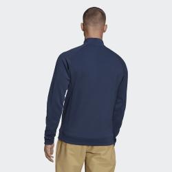Promo Haut Manches Longues Adidas Quarter-Zip Bleu Marine