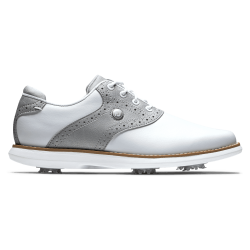 Chaussure Femme Footjoy Traditions M Blanc/Gris