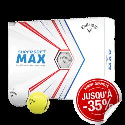Balles Callaway Supersoft MAX x12