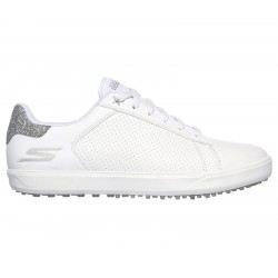 Chaussure Femme Skechers Drive-Shimmer Blanc