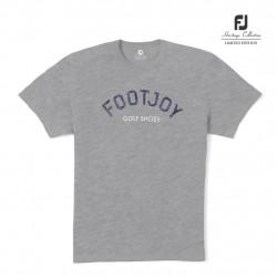 Tee Shirt Footjoy Heritage Gris