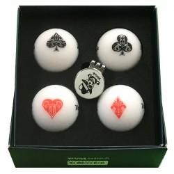 Balles de golf Volvik Vivid Lucky Pack x4