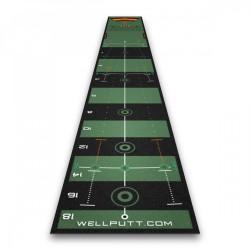 Promo Tapis de Putting Wellputt Mat 4M