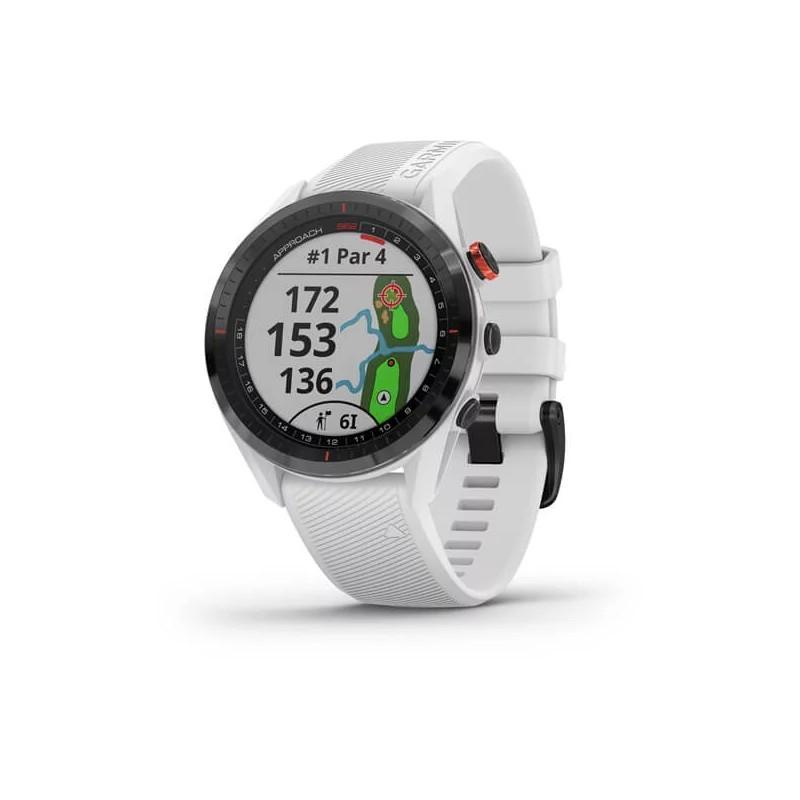 Montre GPS Garmin Approach S62 Blanc