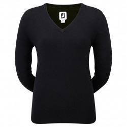 Achat Pull Femme Footjoy Lambswool Col-V
