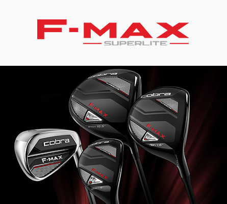 Gamme F-max Superlite Cobra golf