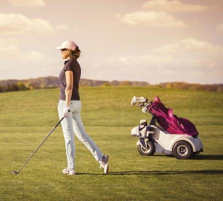 Promo chariots de golf