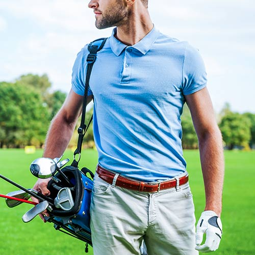 Promo vêtements de golf